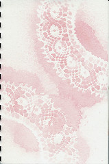 Visual Journal Workshop 2 - Lace
