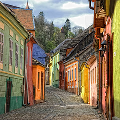 Street of Sighisoara photo by 23gxg - George Nutulescu
