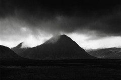 Looking towards Buachaille Etive Mor, Scotland (Print) photo by Martins Photo Scrap Book