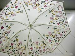 晴雨兼用折りたたみ雨傘(mini labo)の写真8