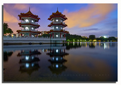 ** Blue Hour @ Chinese Garden Singapore ** photo by Glen Espinosa Photography