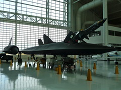 "Lockheed SR-71A ""Blackbird"", the fastest aircraft ever built"