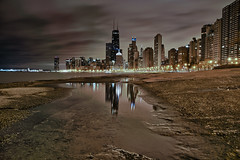Reflections of Chicago photo by w4nd3rl0st (InspiredinDesMoines)