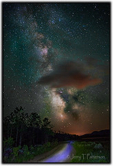 Milky Way In The Tetons photo by Jerry T Patterson