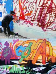 COKA GRAFF (Q.E.P.D.) photo by LosMurosNosHablan