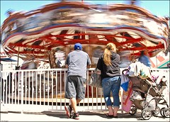 3296. Carousel in Motion. (Explored) photo by Di's Eyes