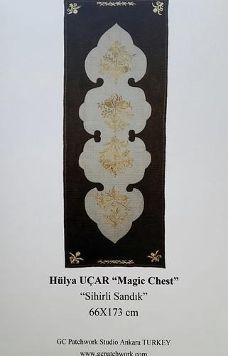 <b>Avrupa Patchwork Şampiyonası</b><div>Hülya Uçar &quot; Magic Chest &quot;</div>