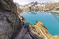 deep down the blue lake [EXPLORE] photo by diamir8000