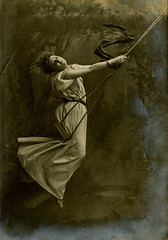 Miss Broughton in swing photo by The National Archives UK