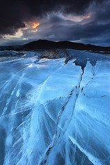 Relentless Force - Svínafellsjökull Glacier in Skaftafell, Iceland photo by orvaratli