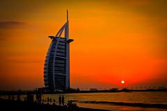 The Burj al-Arab, at sunset photo by modenadude