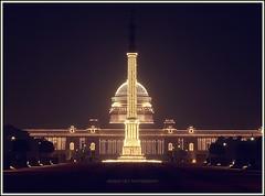 Rashtrapati Bhavan (President's House), New Delhi photo by Anindo Dey