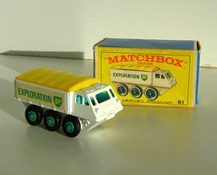 Matchbox Model No. 61 - Alvis 'BP Exploration' Stalwart photo by Kelvin64