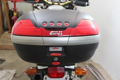 Install Givi E189 Topcase Rack on R1150GS