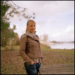 Capucine Portrait - Bordeaux Lac - Hasselblad photo by Seb Huruguen