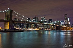 Brooklyn Bridge & Manhattan photo by Laura Varney-Watts
