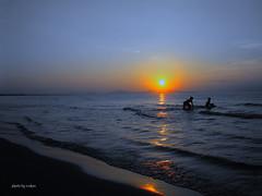 sunrise over sea #1 photo by e.nhan