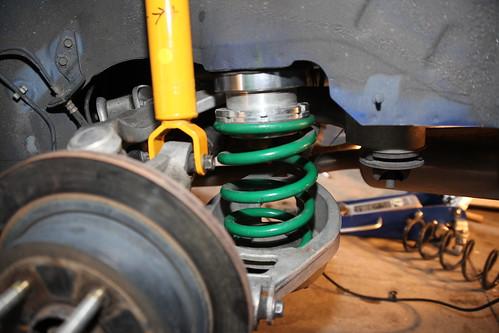Rear Suspension Complete
