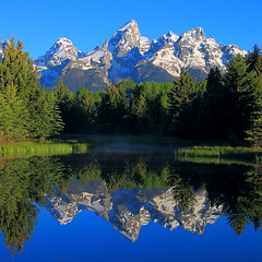 IMG_7766 Reflection of the Tetons, Schwabacher Landing, Grand Teton National Park photo by ThorsHammer94539