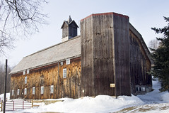 Wooden Silo and Barn photo by Flapweb