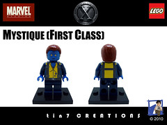80 - Mystique (First Class) photo by tin7_creations