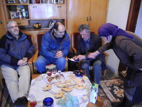 În casă la Tănase și Caliope în Borova, Albania