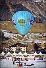Switzerland. Château- d'Oex . Festival de ballons 2007. No.433 photo by Izakigur
