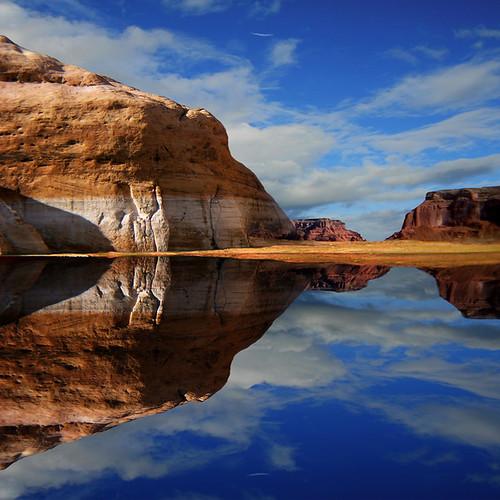 Reflection of Lake Powell