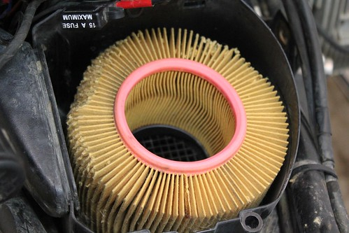 2001 BMW R1150GS Air Filter Replacement