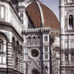 Rita Crane Photography: Italy / Florence / The Duomo / Santa Maria dei Fiore / architecture / Renaissance / building / people photo by Rita Crane Photography