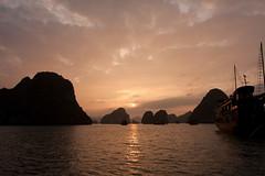 Halong Bay Sunset II photo by th3rdman