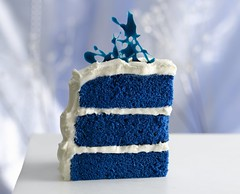 Royal Blue Velvet Cake Recipe photo by Betty Crocker Recipes