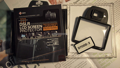 GGS 3rd generation LCD screen protector for Nikon D7000