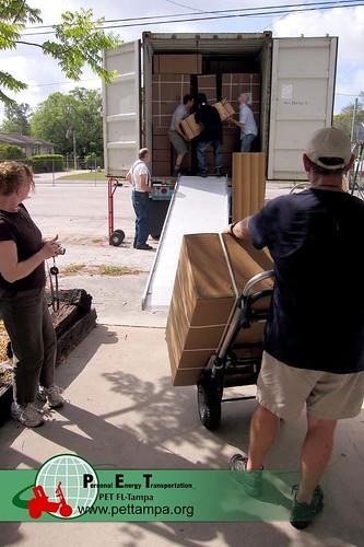 PET Carts for Ecuador
