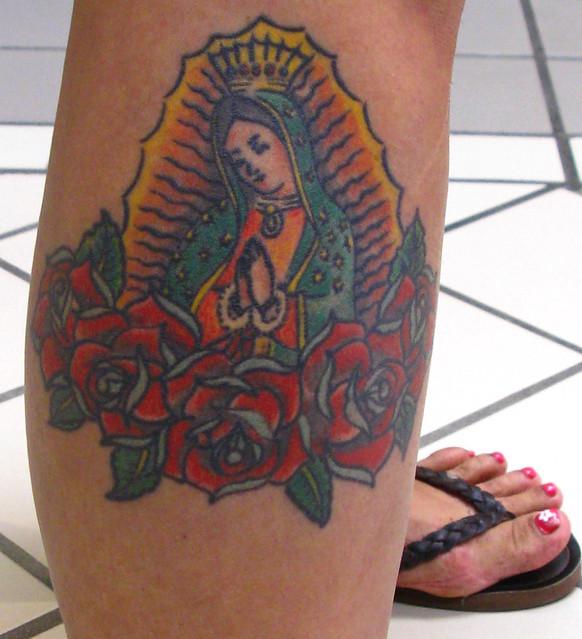 Virgen de guadalupe tattoo itcesasquez for Virgen de guadalupe tattoo