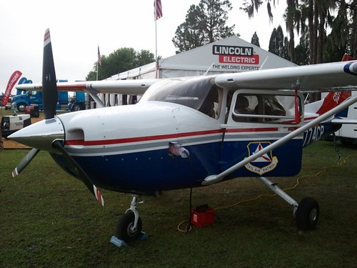 Brand new Cessna 182T airplane for the CAP Florida Wing.
