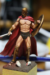 "Yedharo Miniatures YM-5401 ""Spartan King"" -8"