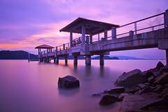 Pulau Aman Jetty - A gateway To a Peace & Tranquility Island photo by tiantan
