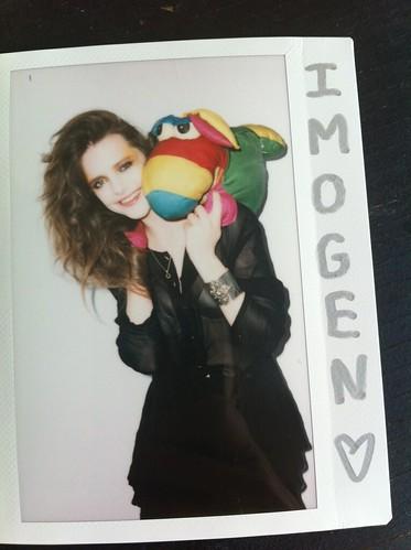 Imogen + Wubba love.