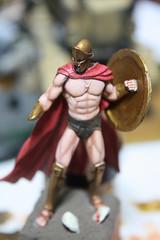 "Yedharo Miniatures YM-5401 ""Spartan King"" -6"