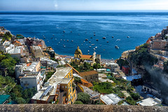 Positano Italy photo by Bridgeport Mike