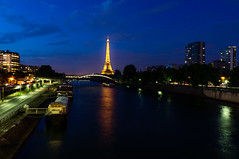 Seine et Tour-Eiffel photo by Laurent Kiruan