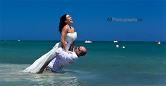 [EXPLORED] Newlyweds enjoying their Jamaican wedding. photo by andreas_schneider