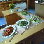 luncheon buffet barge C'est la Vie