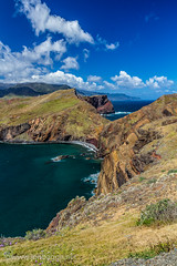 Madeira view from Ponta de São Lourenço photo by Jon Bagge