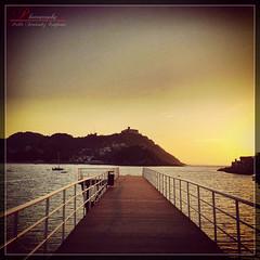 Sunset Path photo by _Hadock_