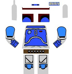 Lego Star Wars Jango Fett Decal photo by legoprime customs