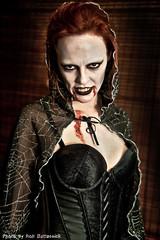 Vampire Portrait 2 photo by Apollo X