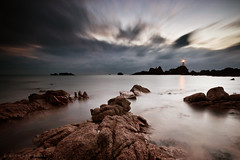 la corbiere timescape photo by Richard Boak (stuck on the rock)