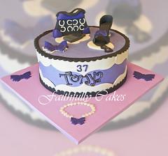 Purple Fashion Birthday photo by FaithfullyCakes